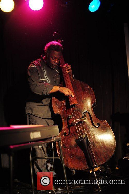 Neville Malcolm on bass playing for David McAlmont...
