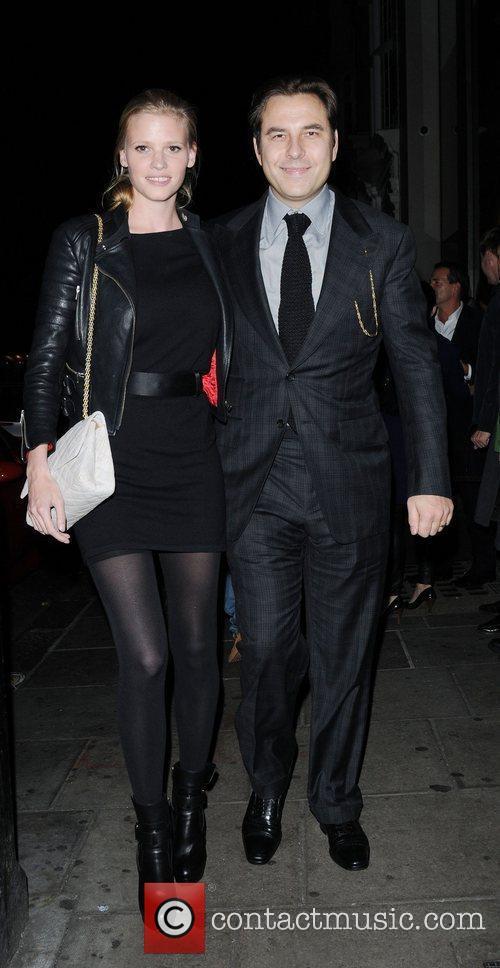 David Walliams and Lara Stone 9