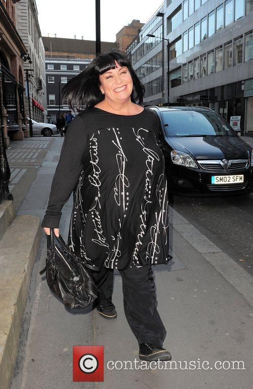 Dawn French out and about in Bond Street