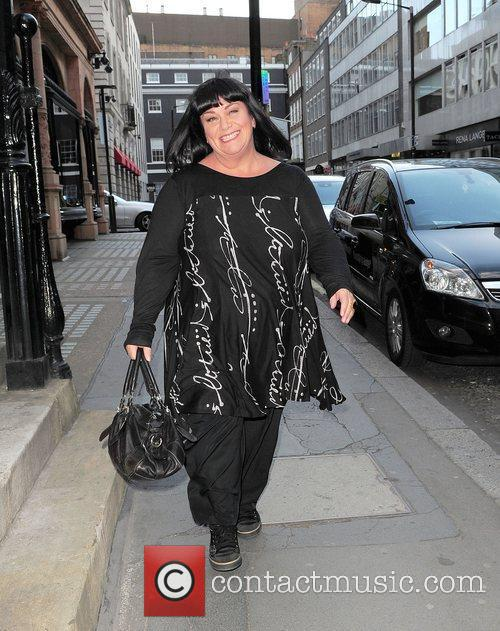 Dawn French out and about in Bond Street...