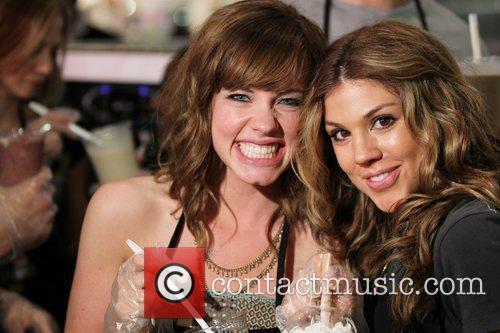 Molly Burnett and Kate Mansi Cast Members of...