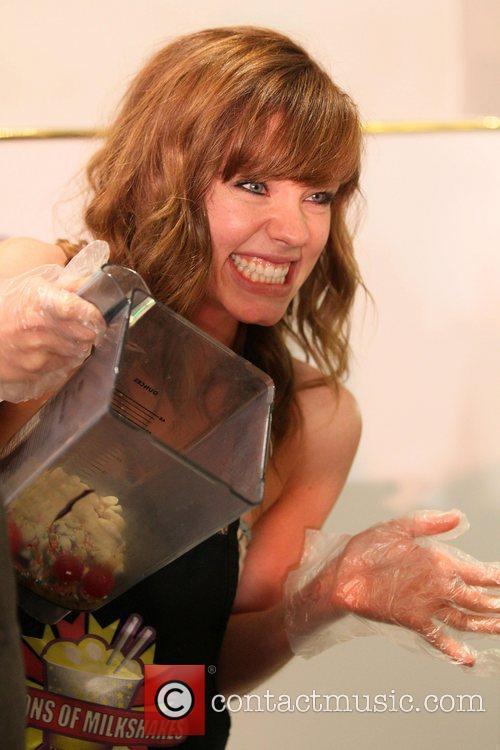 Molly Burnett Cast Members of TV Soap 'Days...