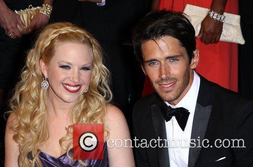 Adrianne Frantz, Brandon Beemer Daytime Emmy Awards Press...