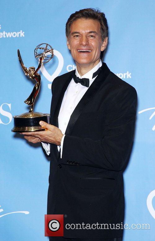 Dr Oz Daytime Emmy Awards Press Room at...