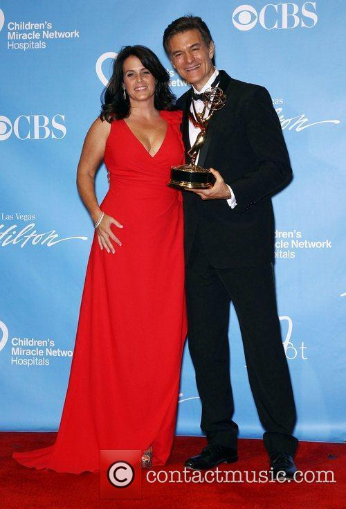 Lisa Oz, Dr. Oz Daytime Emmy Awards Press...