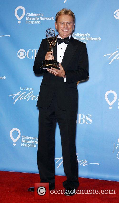 Pat Sajak Daytime Emmy Awards Press Room at...