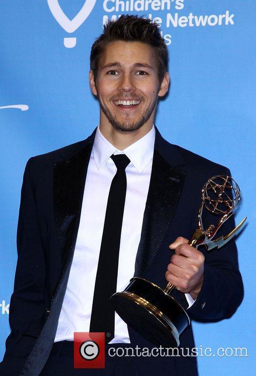 Daytime Emmy Awards Press Room at Hilton Hotel...