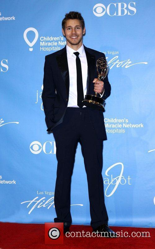 Scott Clifton Daytime Emmy Awards Press Room at...