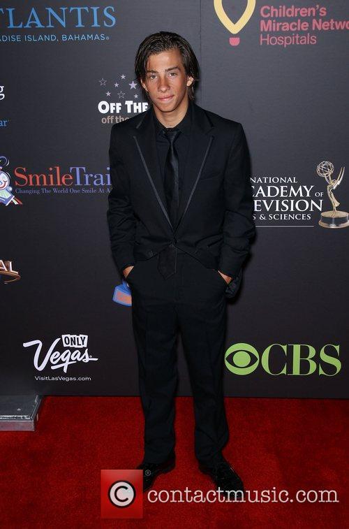 Jimmy Bennett Daytime Emmy Awards at the Hilton...