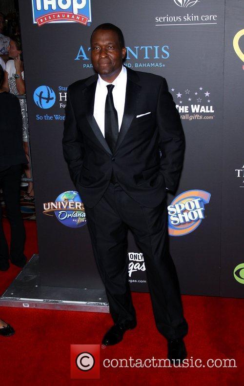Rodney Saulsberry Daytime Emmy Awards at the Hilton...