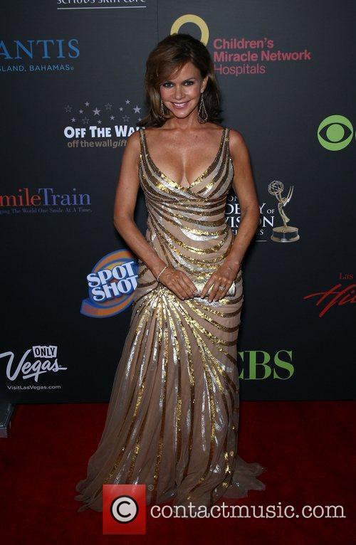Bobbie Eakes Daytime Emmy Awards at the Hilton...