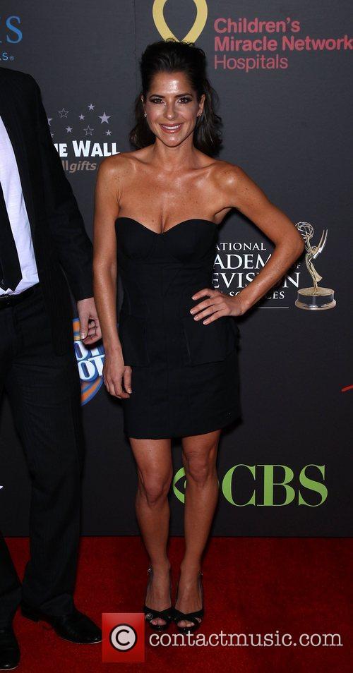 Kelly Monaco Daytime Emmy Awards at the Hilton...