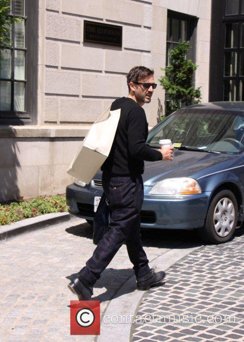 David Arquette Celebrities seen at their Hotel in...
