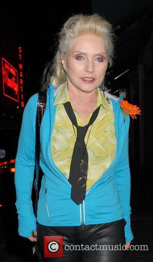 Debbie Harry at the Blondie Album Playback held...