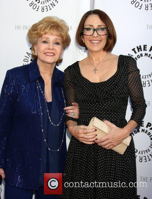 Debbie Reynolds and Patricia Heaton 10