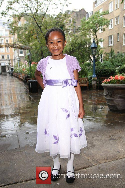 Five-year-old Deborah Thorpe from Barking and Dagenham, who...