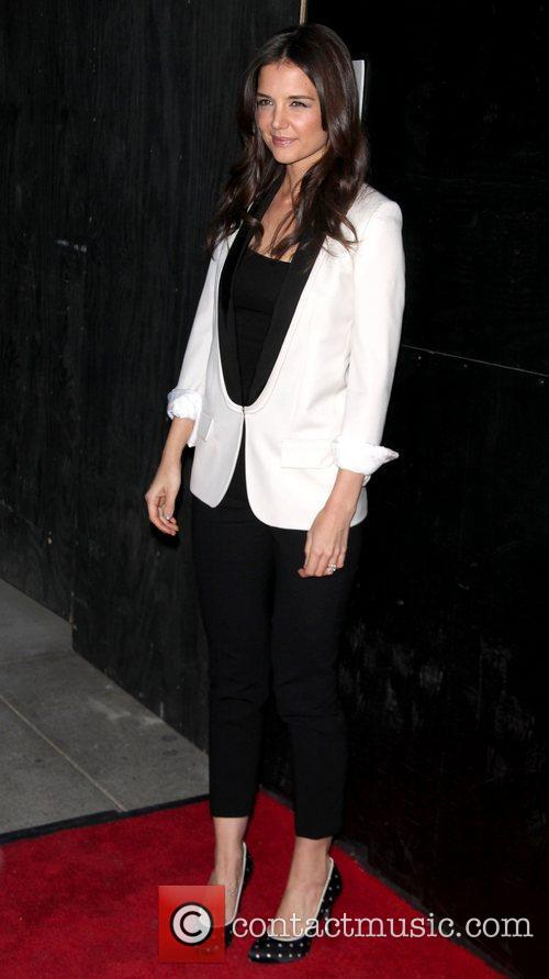 Katie Holmes  attends the premiere of the...