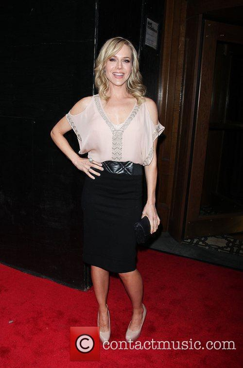 Julie Benz  attends the premiere of the...