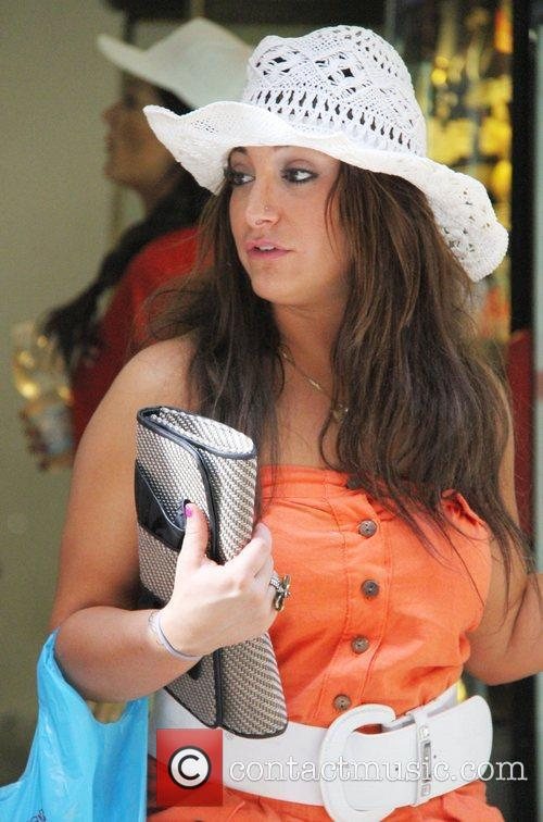 Deena Nicole Cortese out and about in Florence...