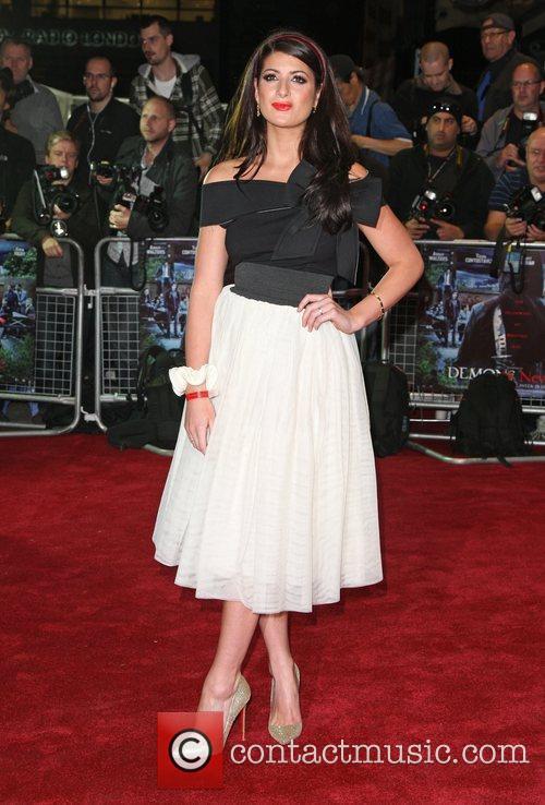 Jennie Jacques 'Demons Never Die' UK film premiere...