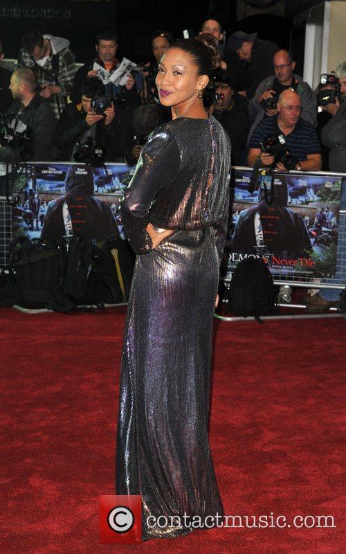 Shanika Warren-Markland Demons Never Die UK film premiere...