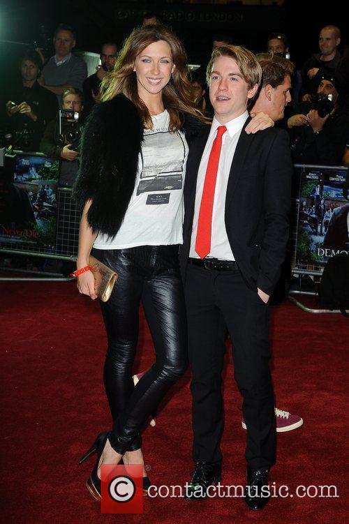 Margo Stilley UK film premiere of 'Demons Never...