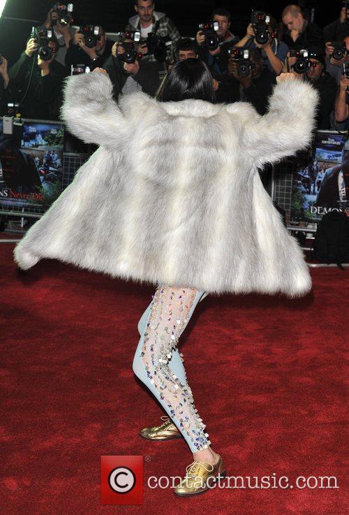 Jessie J Demons Never Die UK film premiere...