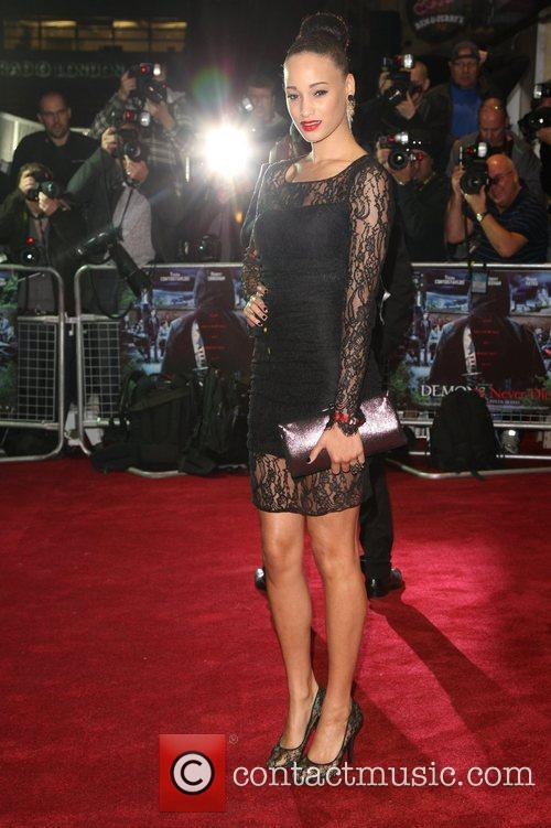Elarica Gallacher 'Demons Never Die' UK film premiere...