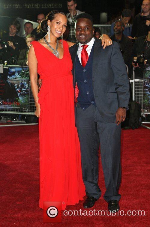 Femi Oyeniran 'Demons Never Die' UK film premiere...
