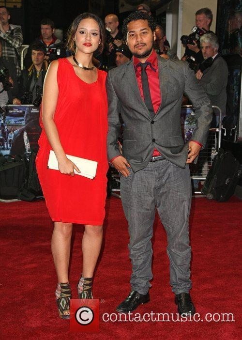 Nathalie Emmanuel, Devon Anderson and Odeon West End 6