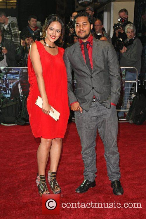 Nathalie Emmanuel, Devon Anderson and Odeon West End 4