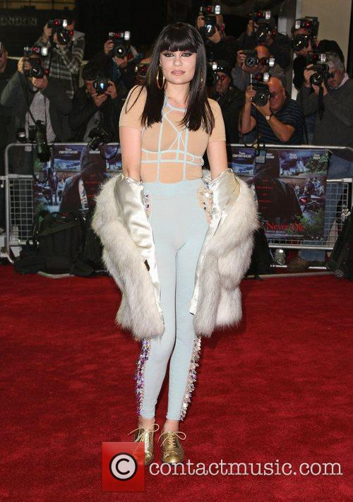 Jessie J UK film premiere of 'Demons Never...