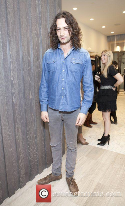 Constantine Maroulis Launch of 'Denim Habit' New York...