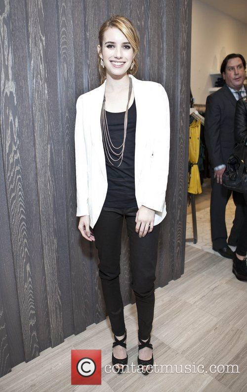 Emma Roberts Launch of 'Denim Habit' New York...