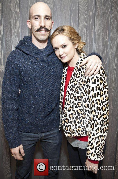 Michael Pereira and Kaylee DeFer Launch of 'Denim...