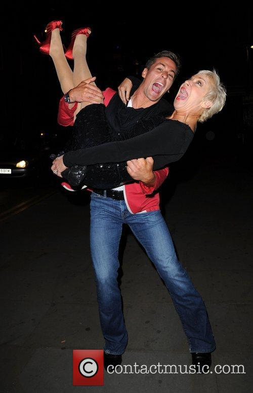 Denise Welch and Dancing On Ice 5