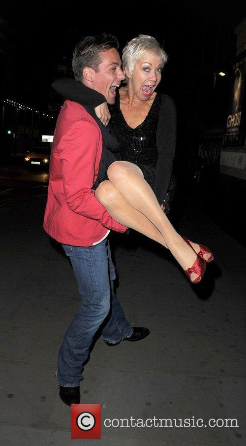 Denise Welch and Dancing On Ice 9