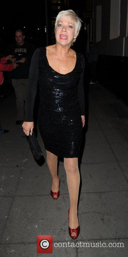 Denise Welch and Dancing On Ice 2
