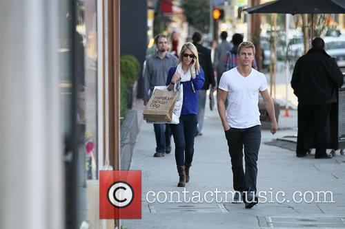 derek hough in good spirits out and 3594142