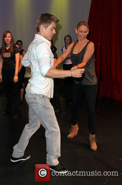 Derek Hough and Kym Johnson  'Dancing With...