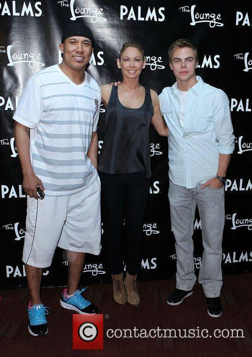 Hines Ward, Kym Johnson, Derek Hough  'Dancing...