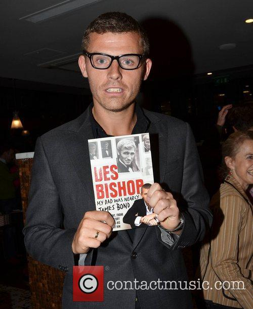 Des Bishop The launch of Des Bishop's book...