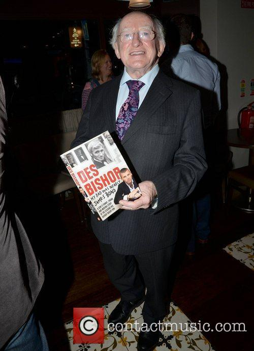 The launch of Des Bishop's book 'My Dad...