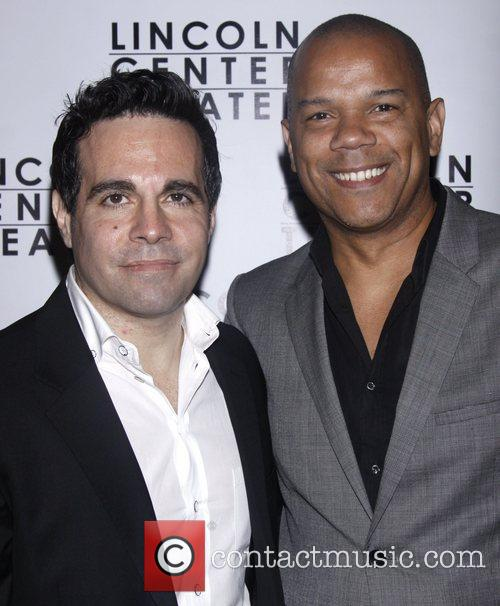 Mario Cantone and Jerry Dixon Opening night after...