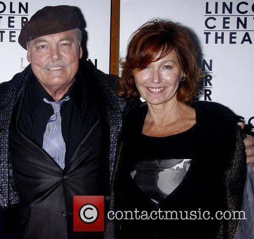 Stacy Keach and Malgosia Tomassi Opening night after...