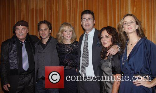 Stacy Keach, Jon Robin Baitz, Judith Light, Rachel Griffiths and Stockard Channing 5