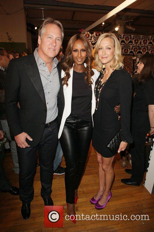 Jame Huniford, Iman, Lara Spencer  Design on...