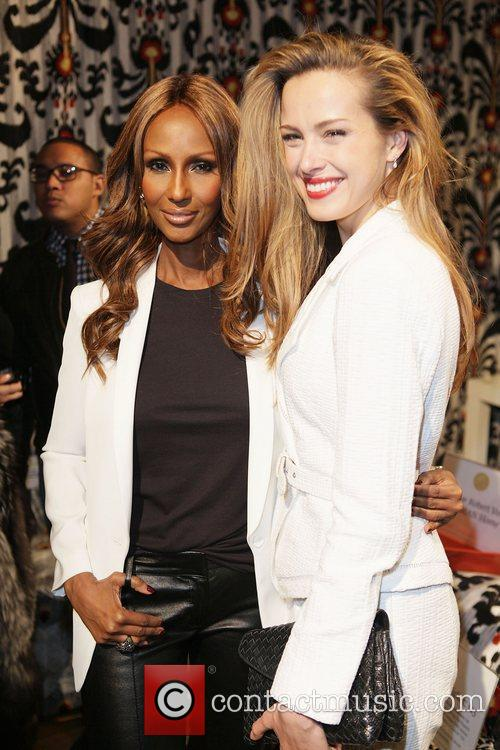Iman, Petra Nemcova  Design on a Dime...