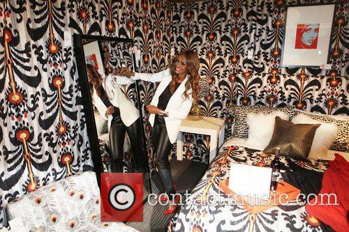 Iman, in her design space  Design on...