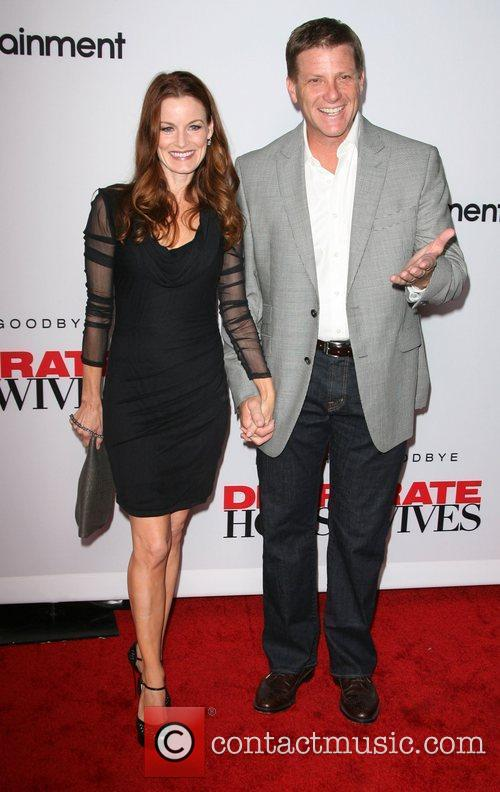 Laura Leighton and Doug Savant  'Desperate Housewives'...